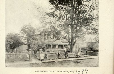 Residence of W. Flavelle 1898