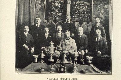 Members of Victoria Curling Club 1898