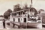 "Steamboat ""Lintonia"" at wharf"