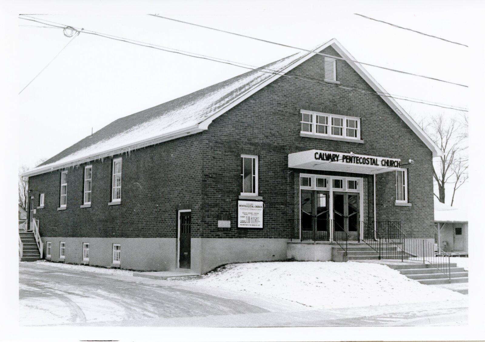 Calvary Pentecostal Church, Lindsay