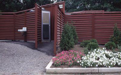 Outdoor washroom/change room