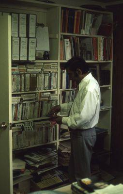 Chief Librarian, Moti Tahiliani, 1973