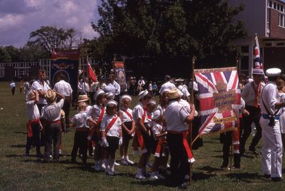Loyal Orange Parade in Lindsay, 1969