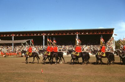 RCMP Musical Ride, Lindsay, 1963