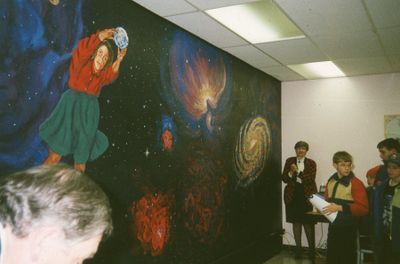 Science Department at Lindsay Public Library, 1993