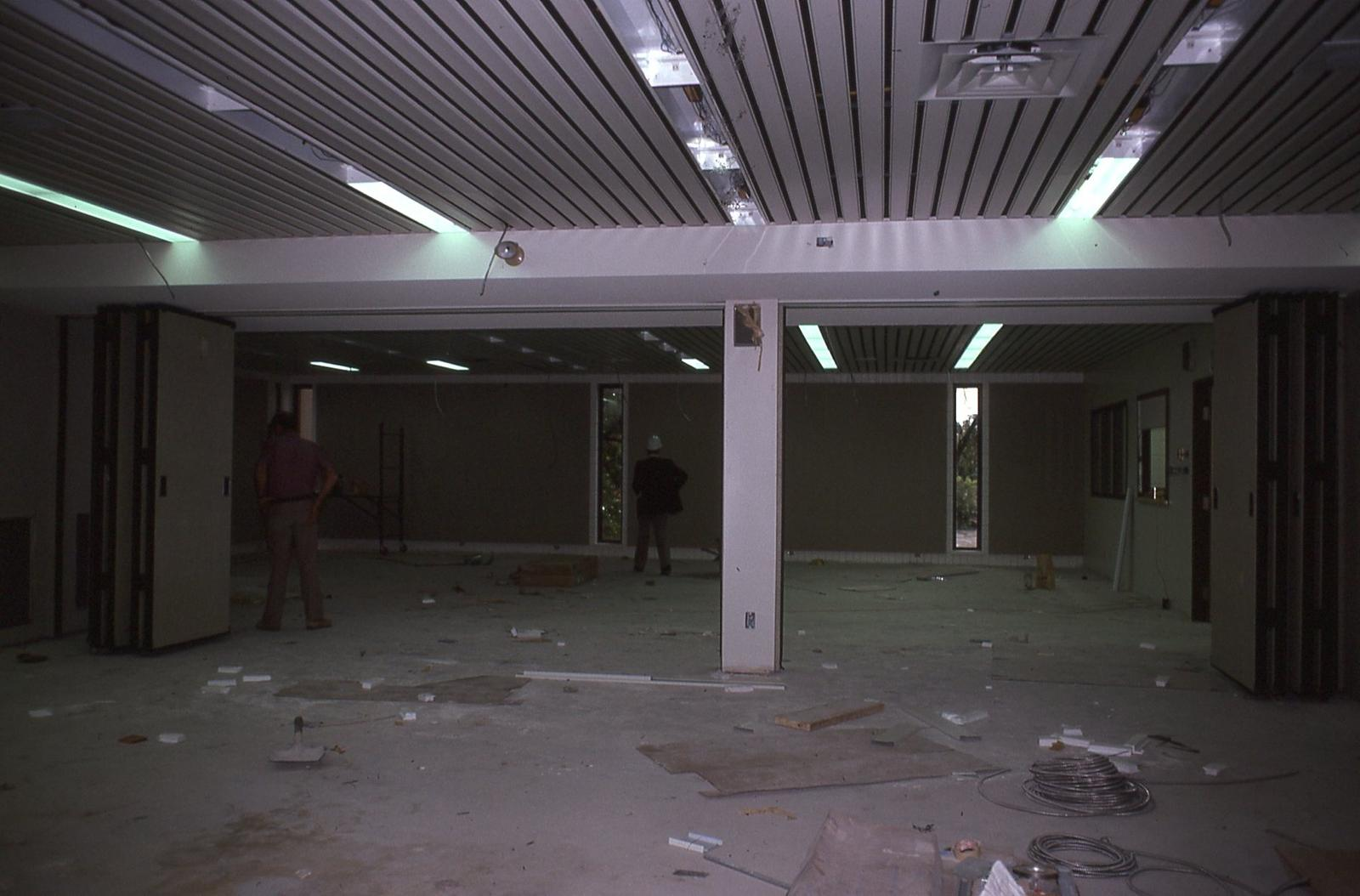 Library Expansion, interior, 1977