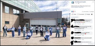April 2: Ross Memorial Hospital Nurses share a message