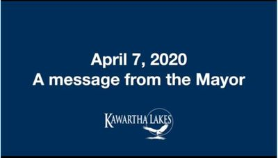 April 7: Mayor updates residents on new COVID-19 regulations