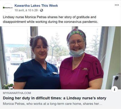 April 10: A Lindsay nurse's story