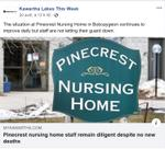 April 20: Pinecrest nursing home staff remain diligent despite no new deaths