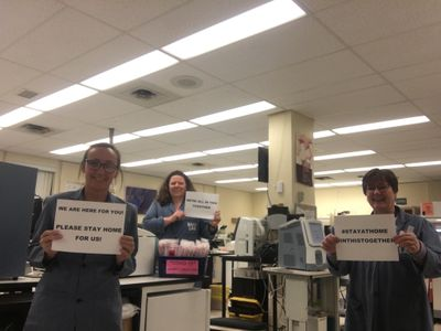 April 20: Ross Memorial Laboratory Staff share a message
