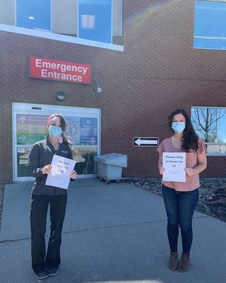 April 20: Emergency Staff share a message
