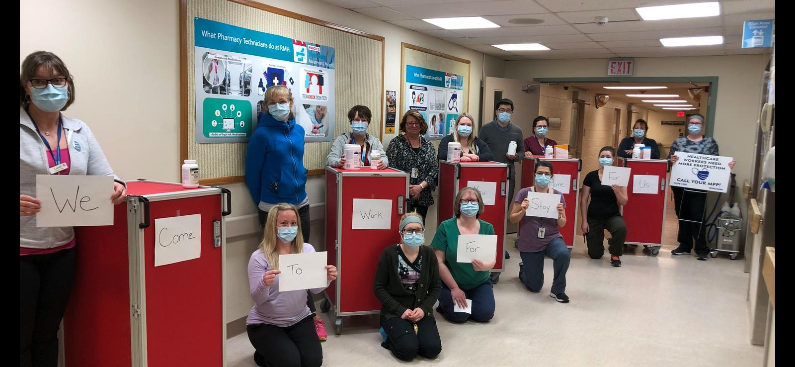 April 20: Ross Memorial's Pharmicists and Pharmacy Technicians share a message.