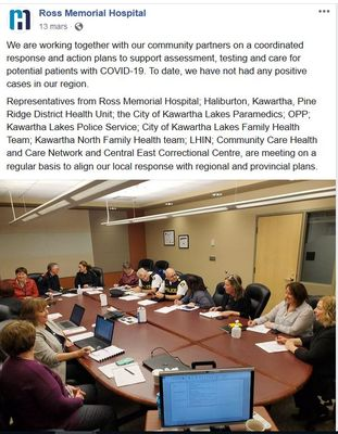 March 13: Ross Memorial Hospital working together with community partners