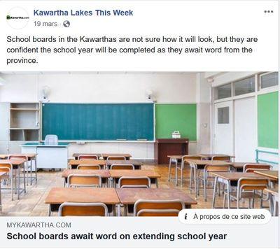 March 19: School boards await word on extending school year