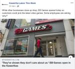 March 20: 'They've shown they don't care about us': EB Games open in the Kawarthas