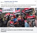 March 24: ETFO deal reached in cloud of COVID-19 in Peterborough, Kawartha Lakes