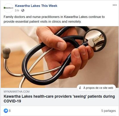 May 4: Kawartha Lakes health-care providers 'seeing' patients during COVID-19