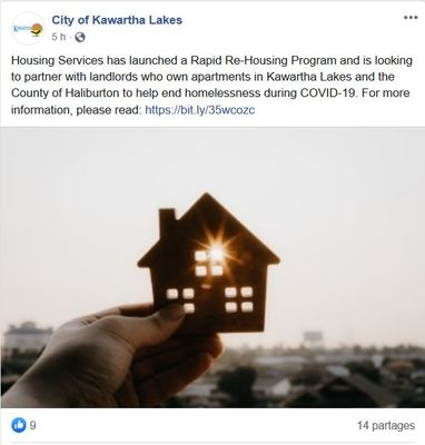 May 4: Housing Services launched Rapid Re-Housing Program
