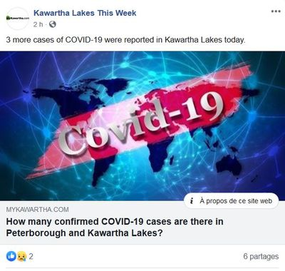 May 4: 3 New Positive COVID-19 cases in Kawartha Lakes