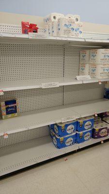 May 4: Paper hygiene supplies still running short