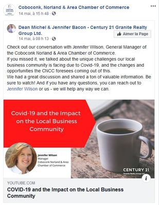 May 14: COVID-19 and the Impact on the Local Business Community