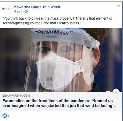 April 6: Paramedics on the front lines of the pandemic