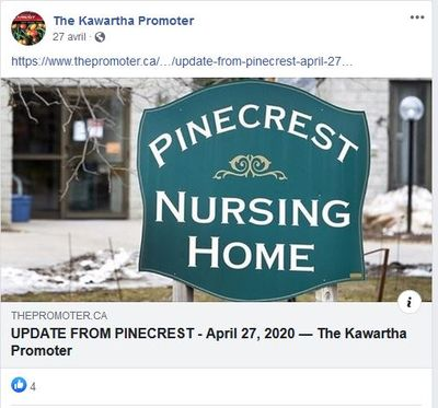 April 27: Update from Pinecrest