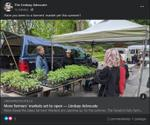 July 3: More farmers' markets set to open