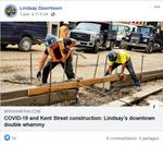 June 1: COVID-19 and Kent Street construction - Lindsay's downtown double whammy