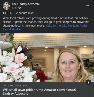 November 17: Will small town pride trump Amazon convenience?