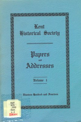 Papers and Addresses Volumes 1