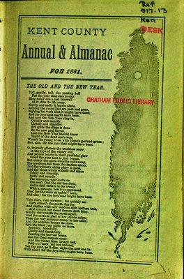 Kent County Annual & Almanac 1881