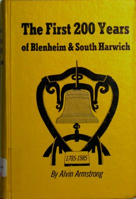 The first 200 years of Blenheim and South Harwich