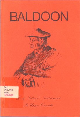 Baldoon : Lord Selkirk's settlement in upper Canada