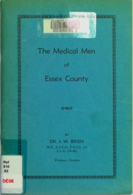 The medical men of Essex County