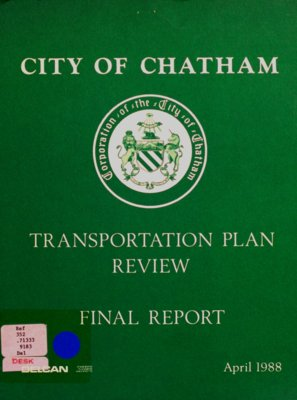 City of Chatham Transportation plan review: final report