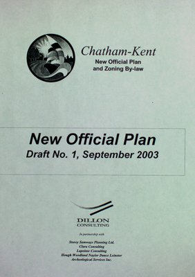 Chatham-Kent : new official plan and zoning by-law