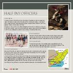 Half pay officers