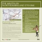 Militia in Northumberland