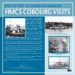 Cobourg Harbour: HMCS Cobourg Visits