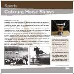 Cobourg Horse Shows