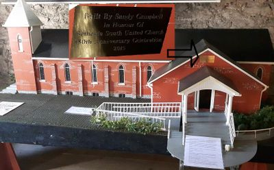 Model of South Bethesda United Church