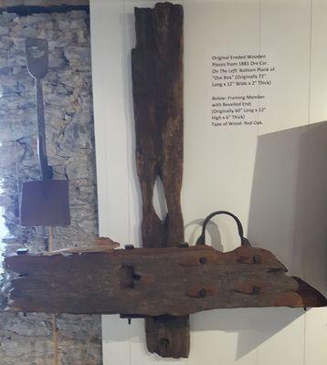 Wooden Ore Car -Pieces