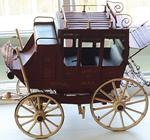 Miniature Royal Mail Stage Coach