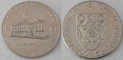 Silver Coloured Commemorative Coin -Victoria Hall
