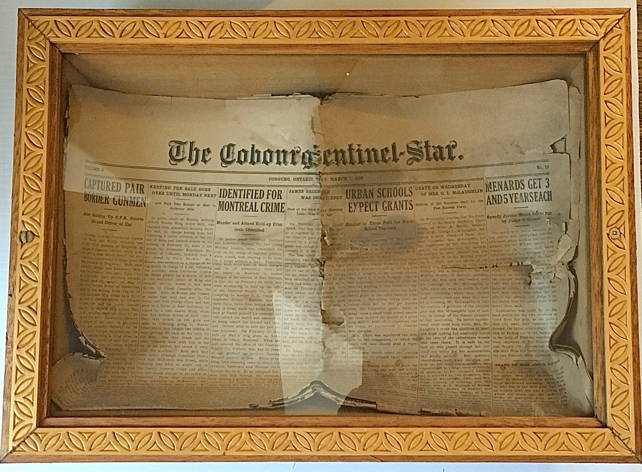 The Cobourg Centennial Star- March 7th 1929