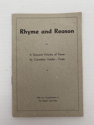 Rhyme and Reason- short book