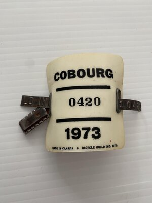 Cobourg Bicycle Bicycle Plate
