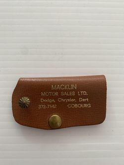 Macklin Motors Key Holder